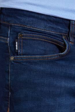 Темно-синие джинсы с яркой отстрочкой Strellson 585139369