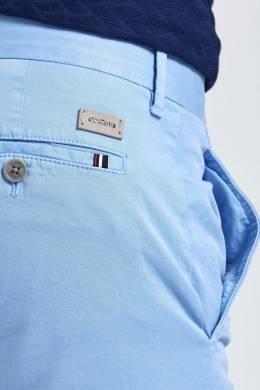 Брюки-чинос голубого цвета Strellson 585139366