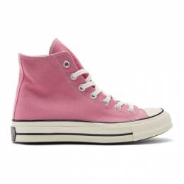 Converse Pink Chuck 70 High Sneakers 192799M23601411GB