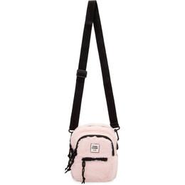 Opening Ceremony Pink Faux-Fur Mini Crossbody Bag 192261F04800201GB