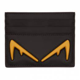 Fendi Black Bag Bugs Card Holder 192693M16301001GB
