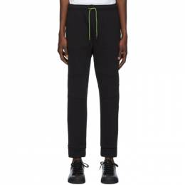 Fendi Black Neon Bag Bugs Lounge Pants 192693M19000205GB