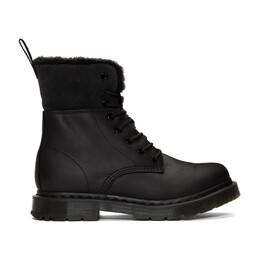 Dr. Martens Black Snowplow 1460 Kolbert Boots R24015001