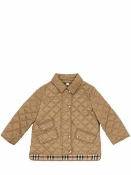 Куртка Из Стёганого Нейлона Burberry 70I91L004-QTEzNjY1