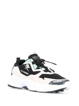 Plein Sport - кроссовки со вставками SC0503STE663N0009599