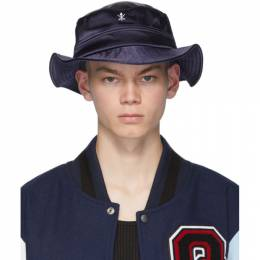 Opening Ceremony Navy Satin Bucket Hat PF19ZEF28045
