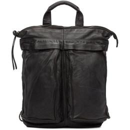Officine Creative Black Helmet 05 Ignis T Backpack 192346M16600501GB