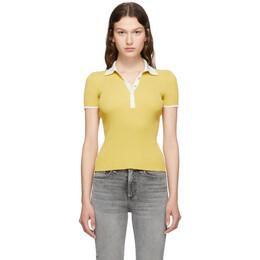 Rag&Bone Yellow Libby Polo 192055F10800204GB