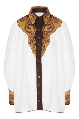 Блуза с принтом и вышивкой Zippy Dandy Zimmermann 1411139836