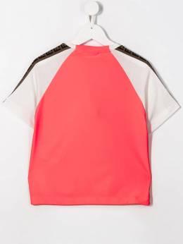 Fendi Kids - футболка в стиле колор-блок 9393AJ95069035000000