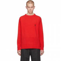 Loewe Red Anagram Sweater 192677M20100703GB