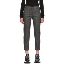 Burberry Grey Wiluna Tailored Trousers 192376F11000104GB