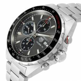 Tag Heuer Antracite Grey Stainless Steel Formula 1 Calibre 16 Chronograph CAZ2012 Men's Wristwatch 44MM 207519