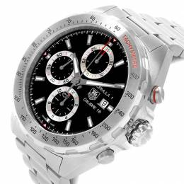 Tag Heuer Black Stainless Steel Formula 1 Chronograph CAZ2010 Men's Wristwatch 44MM 207520
