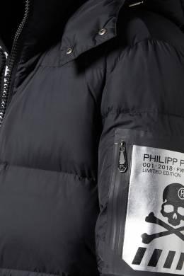 Черная куртка с капюшоном Philipp Plein 1795140562