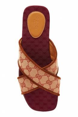 Пантолеты из жаккарда Original GG Gucci 470139938