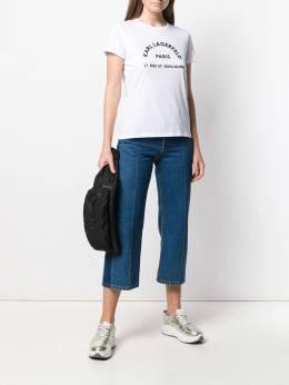 Karl Lagerfeld - футболка Address с логотипом W9336966939369930000