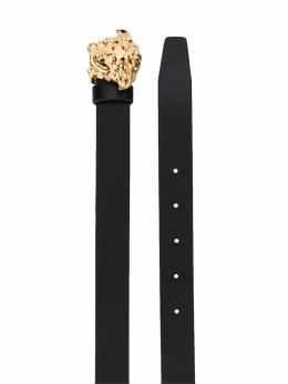 Young Versace ремень с логотипом на пряжке YMM00002YB00170