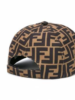 Fendi Kids - кепка с логотипом FF 665A0LT9593555000000