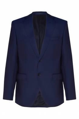 Темно-синий шерстяной костюм Hugo Boss 622140745