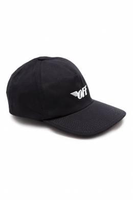 Черная бейсболка с логотипом Off-White 2202140808