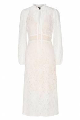 Кружевное платье с рюшевым воротником Maje 888139082
