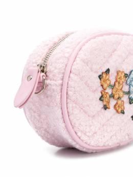 Monnalisa - сумка на плечо из искусственной шерсти 66956939500360300000