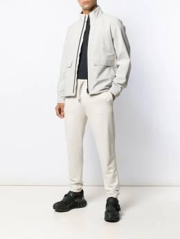 Z Zegna - спортивные брюки с кулиской 66ZZP069599300800000