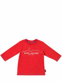 Футболка Из Хлопкового Джерси Little Marc Jacobs 70IFH2027-OTkx0