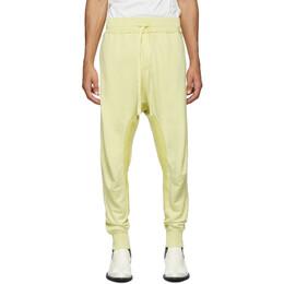 Haider Ackermann Yellow Perth Moonshape Lounge Pants 192542M19000105GB