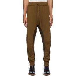 Haider Ackermann Brown Perth Moonshape Lounge Pants 192542M19000202GB