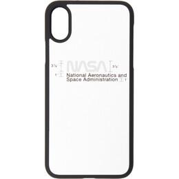 Heron Preston Silver Logo iPhone XS Case HMPA003F197390189188