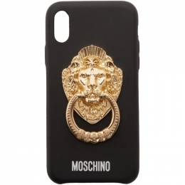 Moschino Black Lion Head Handle iPhone XS Case 192720M15301201GB