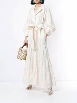 Johanna Ortiz - ярусное платье макси 98A95999609000000000
