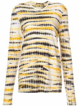 Proenza Schouler футболка с длинными рукавами и принтом тай-дай R1844021JCP11