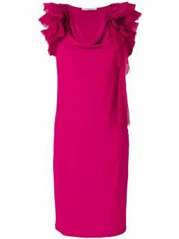 Givenchy - платье шифт с рюшами 66W36989059383300000