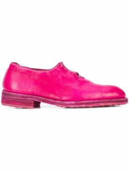Guidi - ботинки-оксфорды с подошвой в тон 0ASOFTHORSEFGCO38T90