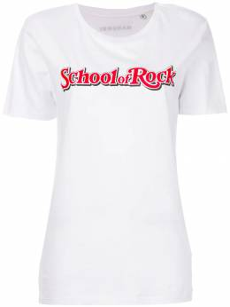 Manokhi футболка 'School of Rock' MANO150SCHOOLOFROCK