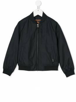 Woolrich Kids - куртка-бомбер с застежкой на молнии PS069090366865000000