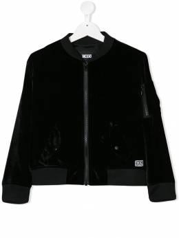 KTZ - куртка-бомбер прямого кроя KIDSJK60BA9366536600