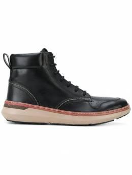 Armani Jeans ботинки на шнуровке 9351197A433