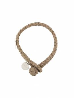 Bottega Veneta - двойной браслет с плетением Intrecciato 556V669D936695060000