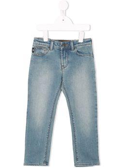 Emporio Armani Kids - stonewashed slim-fit jeans J669DLQZ939909990000