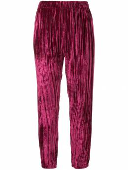 Forte Forte - pleated cropped trousers 3MYPANTS939366950000