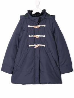 Familiar hooded duffle coat 483250