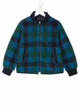 Familiar check bomber jacket 483251