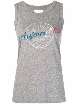 Current/Elliott - printed vest top 6989TP60993939553950