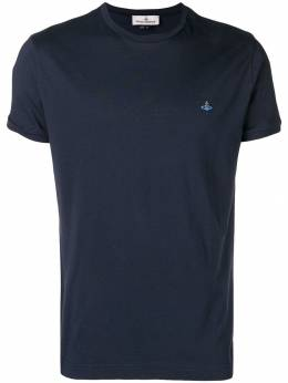 Vivienne Westwood embroidered logo T-shirt S25GC0385S22634