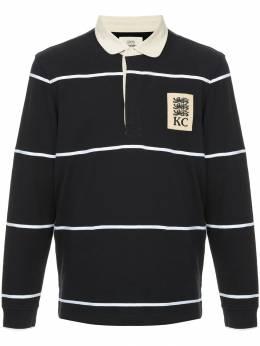 Kent & Curwen рубашка-поло в полоску K38I7TM280