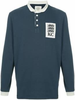 Kent & Curwen рубашка-поло с нашивкой K38I7ER040